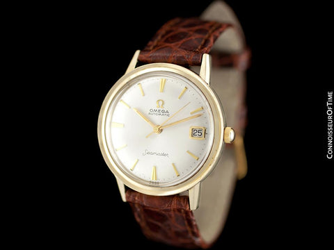 1964 Omega Seamaster Rare Cal. 560 Vintage Mens Watch, Automatic, Date - 14K Gold Filled