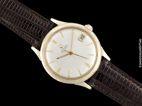 1965 Omega (Seamaster) Rare Cal. 560 Vintage Mens Watch, Automatic, Date - 10K Gold Filled & Stainless Steel