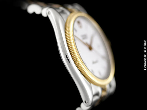 Tudor (Rolex) Monarch Oyster Mens Watch, Ref. 15633 - Stainless Steel & 18K Gold