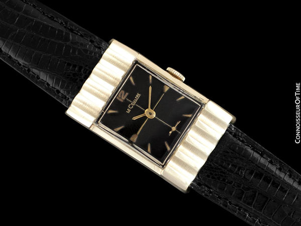 1954 LeCoultre Vintage Mens Watch with Rare Case - 10K Gold Filled