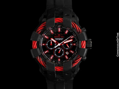 Invicta Bolt Mens Extra Large Chronograph Watch - Owned & Worn By Burt Reynolds