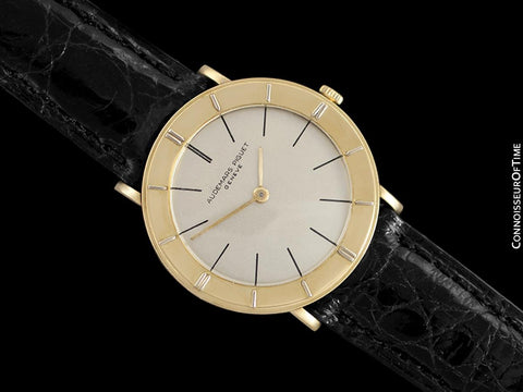 1960's Audemars Piguet Vintage Mens Modernist Cal. 1003 Ultra Thin Watch - 18K Gold