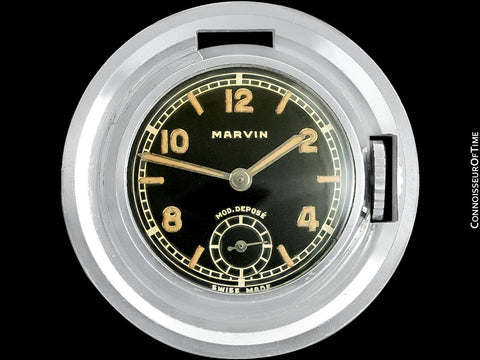 1930's Marvin Antique Fob Watch - Owned By King Edward VIII & The Duchess Of Windsor