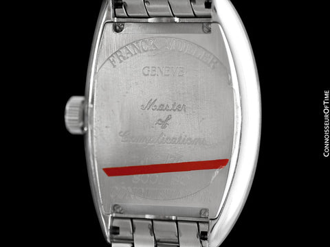 Franck Muller Conquistador King 8001 SC Mens Watch - Stainless Steel