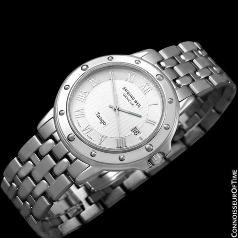 Raymond Weil Tango Mens Bracelet Watch, Ref. 5560 - Stainless Steel
