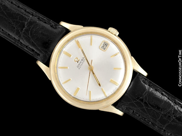 1967 Omega (Seamaster) Rare Cal. 560 Vintage Mens 10K Gold Filled & Stainless Steel Watch - Only Approx. 3000 Made