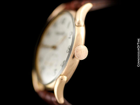 1946 IWC Vintage Mens Large Claw Lug Watch - 18K Rose Gold