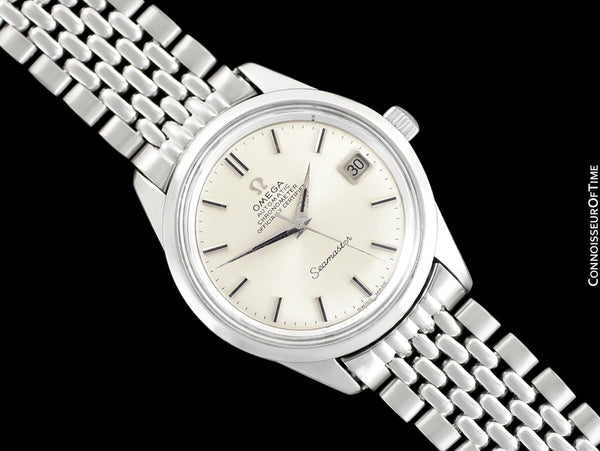 1970 Omega Seamaster Chronometer Vintage Mens Cal. 564 Watch - Stainless Steel