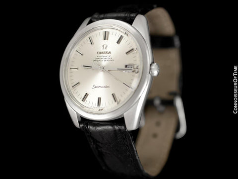1968 Omega Seamaster Chronometer Large Vintage Mens Cal. 564 Watch - Stainless Steel