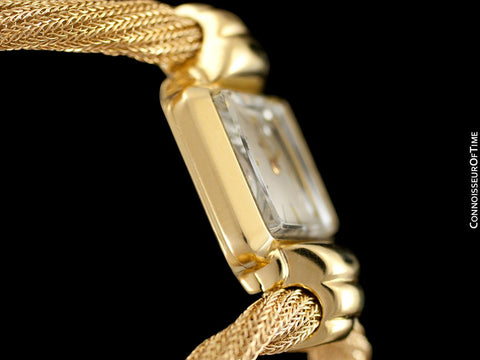 1945 Rolex Vintage Ladies Dress Watch with Bracelet - 18K Gold
