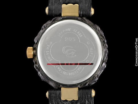 Carrera y Carrera Ladies Equestrian 18K Gold & Sculptured Titanium Horse Watch