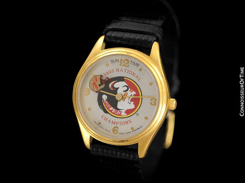 1993 Florida State University Seminoles Mens Championship Watch - Owned & Worn By Burt Reynolds