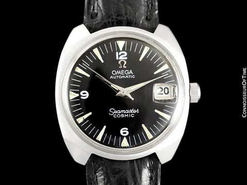 1963 Omega Vintage Mens Seamaster Cosmic Retro Watch, Date, Auto - Stainless Steel