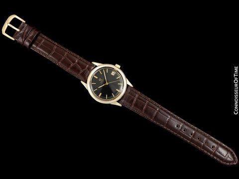 1967 Omega (Seamaster) Rare Cal. 560 Vintage Mens Watch, Automatic, Date - 10K Gold Filled & Stainless Steel