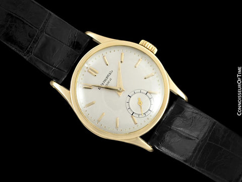 1946 Patek Philippe Vintage Calatrava Ref. 96, 18K Gold Watch with Extract - The Original