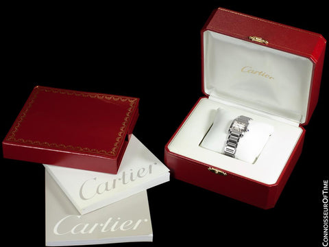 CARTIER Ladies Tank Francaise Stainless Steel Watch, W51008Q3 - Box & Papers