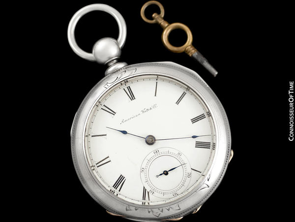 1861 Waltham Appleton Tracy Civil War 18 size Pocket Watch - Same Brand Given to Abraham Lincoln at Gettysburg