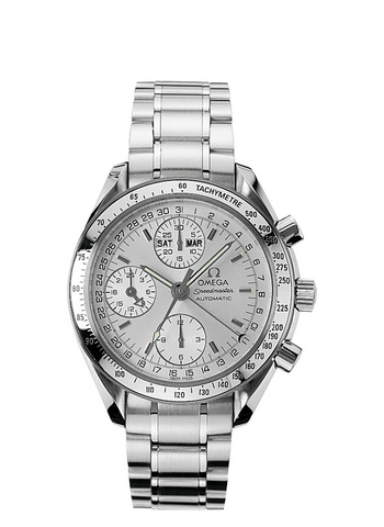 Omega Speedmaster Mens Triple Date Chronograph Automatic Stainless Steel Watch, 3523.30 - 2011 with Papers