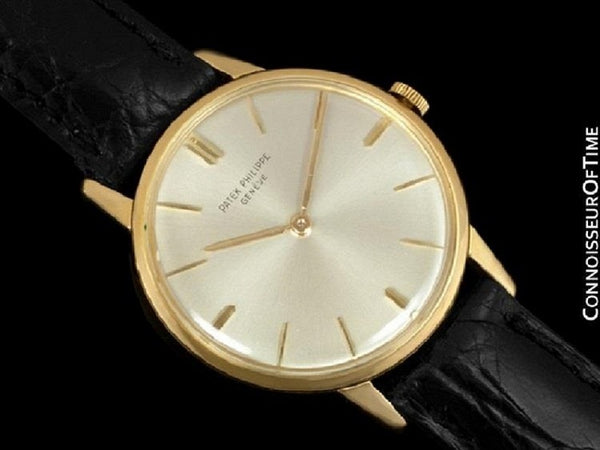 1970 Patek Philippe Vintage Mens Handwound Dress Watch Ref. 2599 - 18K Gold