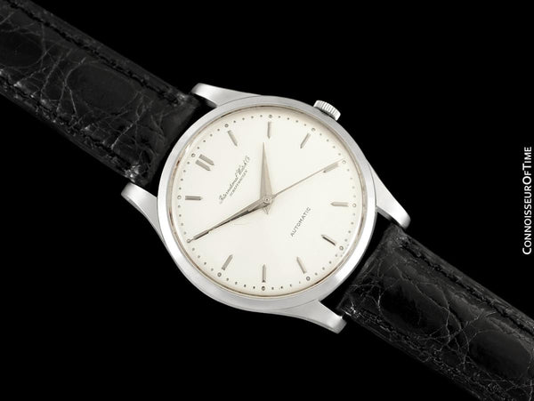 1962 IWC Vintage Mens Automatic Watch, Cal. 853 - Stainless Steel