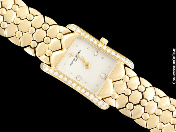 Vacheron & Constantin Ispahan Ladies Bracelet Watch - 18K Gold & Diamonds