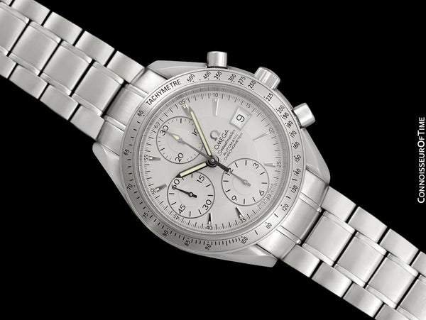 Omega Speedmaster Mens Triple Date Chronograph Automatic Stainless Steel Watch, 3211.30 - 2015 with Papers & Boxes
