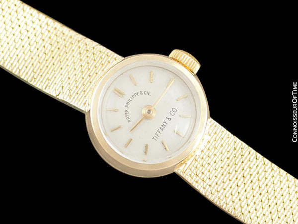 1960 Patek Philippe Tiffany & Co. Vintage Ladies Watch - 18K Gold