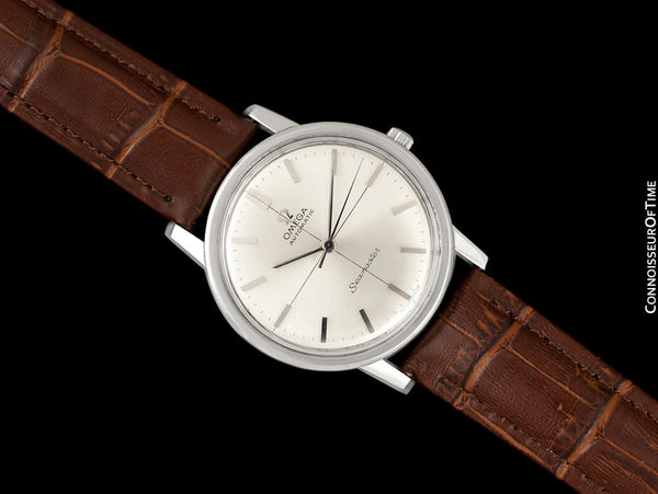 1963 Omega Seamaster Vintage Mens Automatic Cal. 552 Watch - Stainless Steel