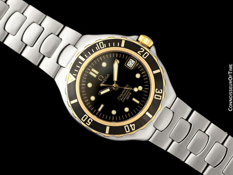 1986 Omega Seamaster 200M Pre-Bond Automatic Chronometer Dive Watch - Stainless Steel & 18K Gold