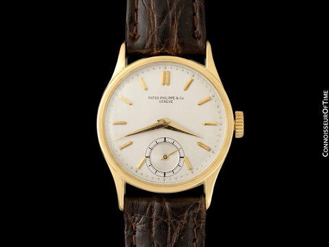 1942 Patek Philippe Vintage Calatrava Ref. 96 World War II Era Watch, 18K Gold with Papers - The Original