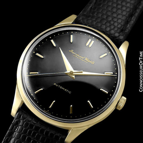 1958 IWC Vintage Mens Full Size Watch, Cal. 853 Automatic - 18K Gold