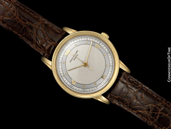 "1955 Patek Philippe Vintage Large Mens Calatrava Ref. 2481 18K Gold Watch - The ""King Size"""