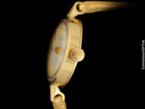 1960's Tiffany & Co. Ladies Vintage Watch with Bracelet - 14K Gold
