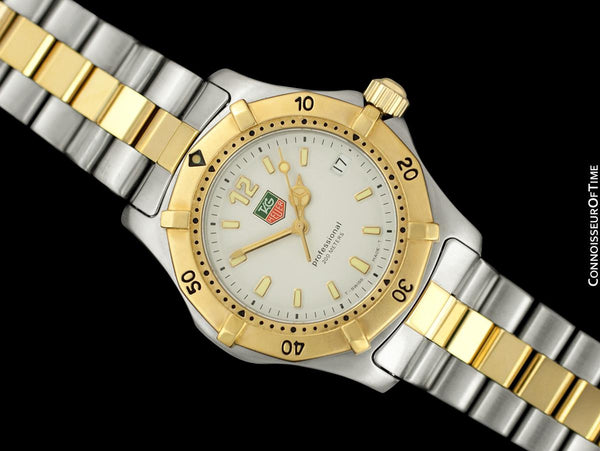 TAG Heuer Professional 2000 Mens Diver Watch, WK1220 - Stainless Steel & 18K Gold Plated