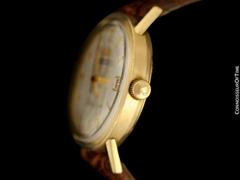 1967 Omega Seamaster Rare Cal. 560 Vintage Mens Watch, Automatic, Date - 14K Gold Filled