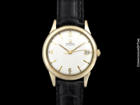 1966 Omega (Seamaster) Rare Cal. 560 Vintage Mens 10K Gold Filled & Stainless Steel Watch - Only Approx. 3000 Made