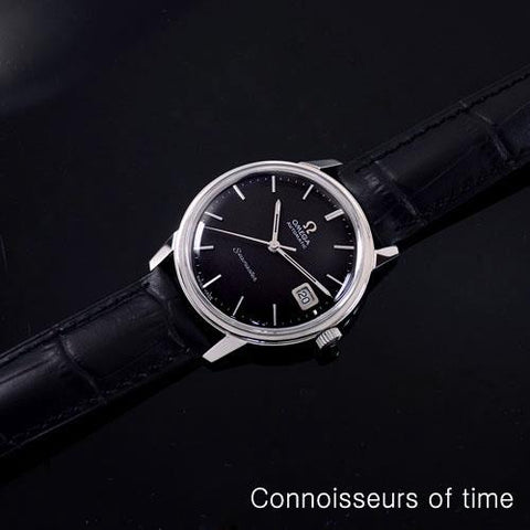 1969 Omega Seamaster Mens Vintage Watch with 565 Movement, Automatic, Quick-Setting Date - Stainless Steel