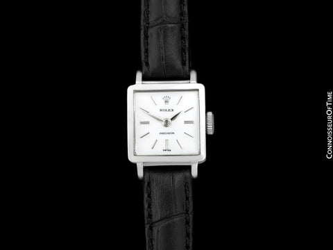 1963 Rolex Precision Pre-Cellini Vintage Ladies Watch, Ref. 3458 - Stainless Steel