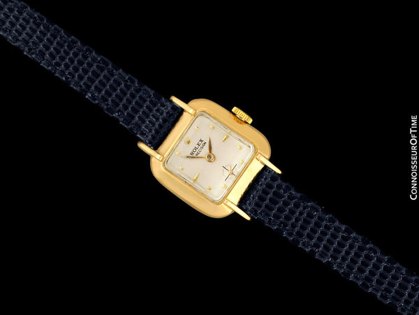 1947 Rolex Precision Pre-Cellini Vintage Ladies Watch, Ref. 4391 - 14K Gold