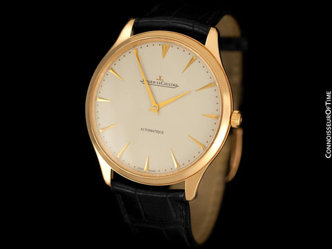 Jaeger-LeCoultre Master Control Ultra Thin 41mm Mens Watch, 18K Rose Gold - Q1332511