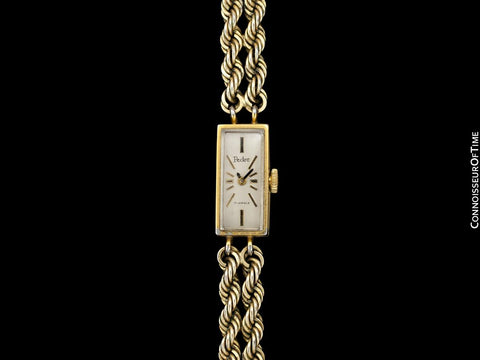 1953 Swiss Pedre Vintage Ladies 14K Gold Plated Watch - Owned & Worn by Actress Loretta Young