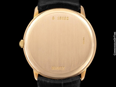 Audemars Piguet Round Midsize Mens Dress Watch - 18K Rose Gold