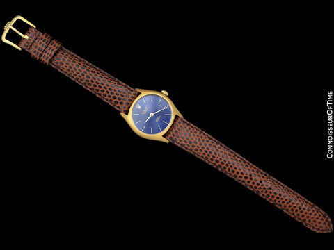 1973 Rolex Cellini Classic Vintage Ladies Handwound Watch, Ref. 3800 - 18K Gold
