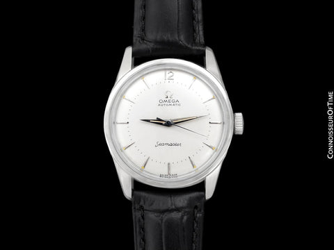 1956 Omega Seamaster Mens Vintage Calatrava Automatic Cal. 500 Watch - Stainless Steel