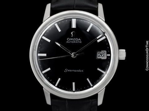 1968 Omega Seamaster Mens Vintage Cal. 565 Watch, Automatic, Date - Stainless Steel