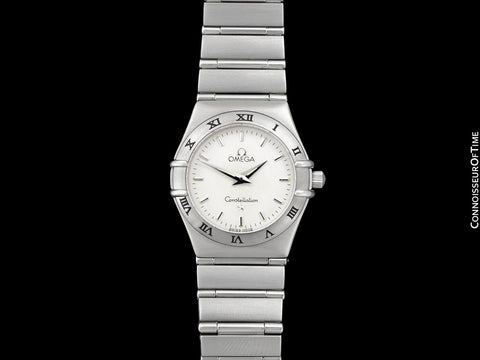 Omega Constellation Manhattan Ladies Bracelet Watch - Stainless Steel