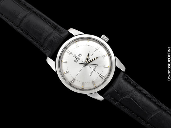 1962 Omega Seamaster Vintage Mens Automatic Cal. 552 Calatrava Watch - Stainless Steel