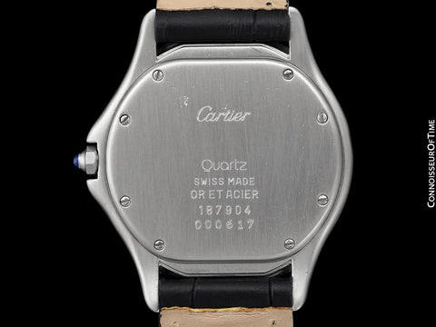 Cartier Cougar Panthere Mens 2-Tone Unisex Watch - Stainless Steel & 18K Gold