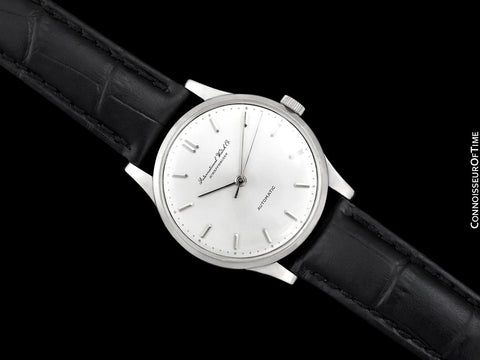 1961 IWC Vintage Mens Watch, Cal. 853 Automatic - Platinum