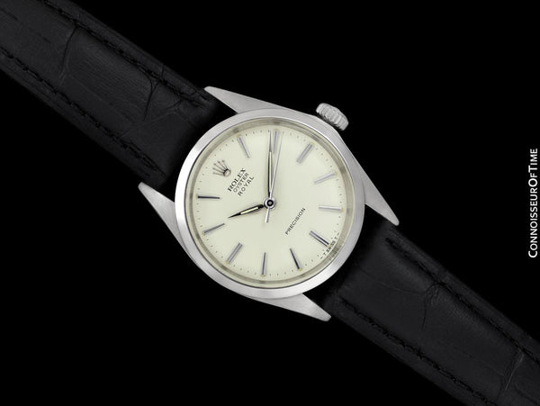 1961 Rolex Oyster Royal Classic Vintage Mens Handwound Watch - Stainless Steel
